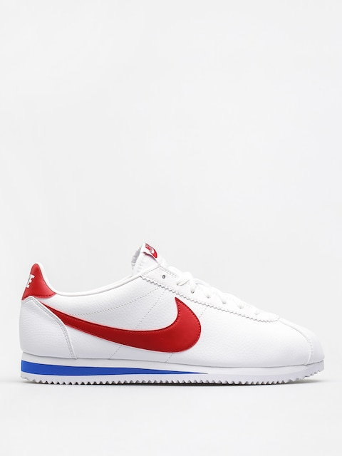 Nike Boty Classic Cortez Leather (white/varsity red varsity royal)