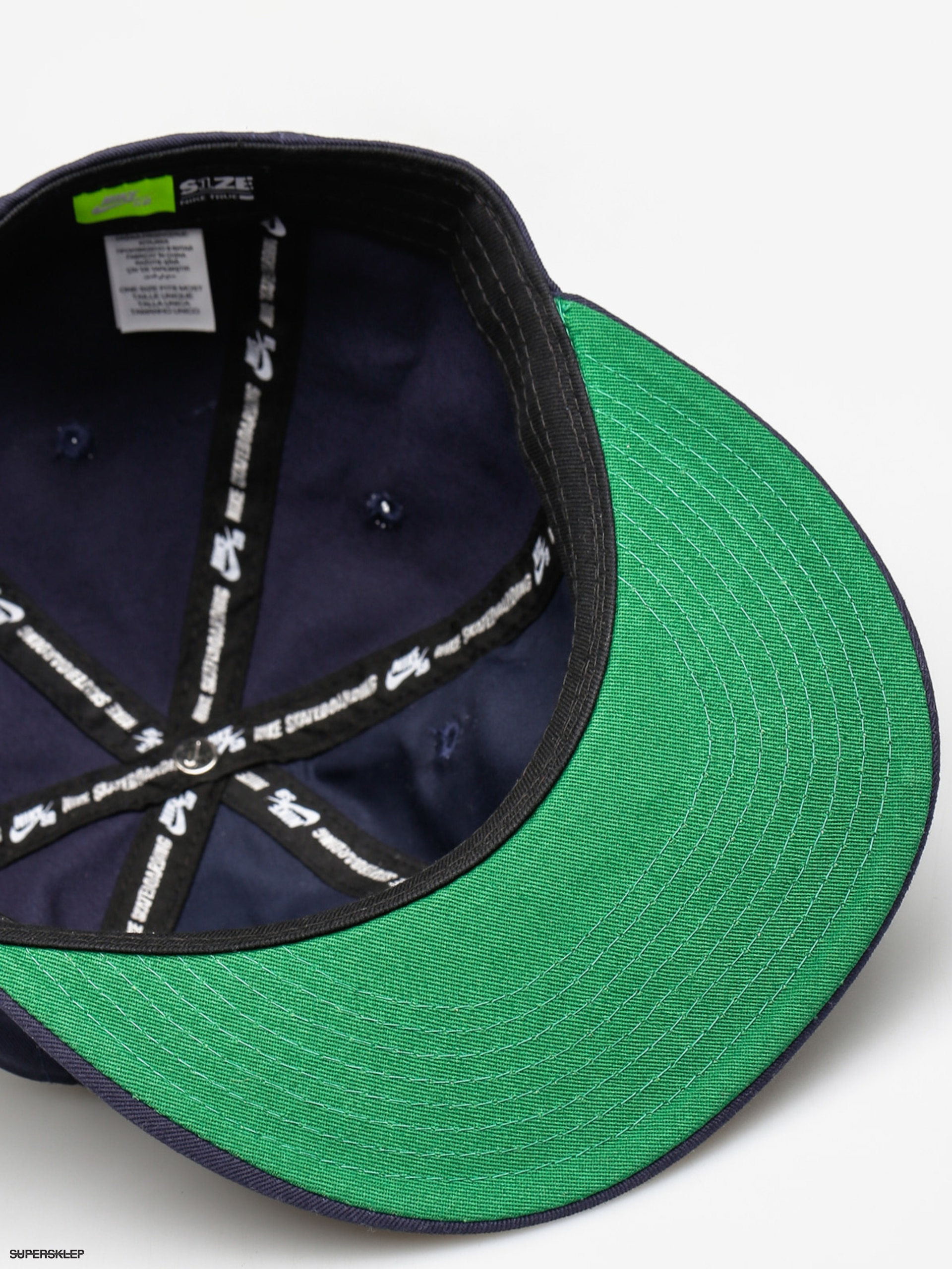 1c4e19dc3aa Nike SB Kšiltovka Nk Cap Sb Vintage ZD (obsidian pine green black hydrogen  blue)