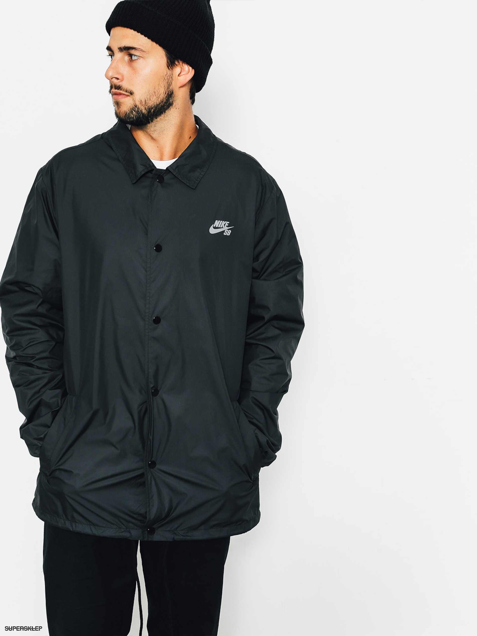 Bunda Nike SB Shield Jkt Coaches (black/cool grey)