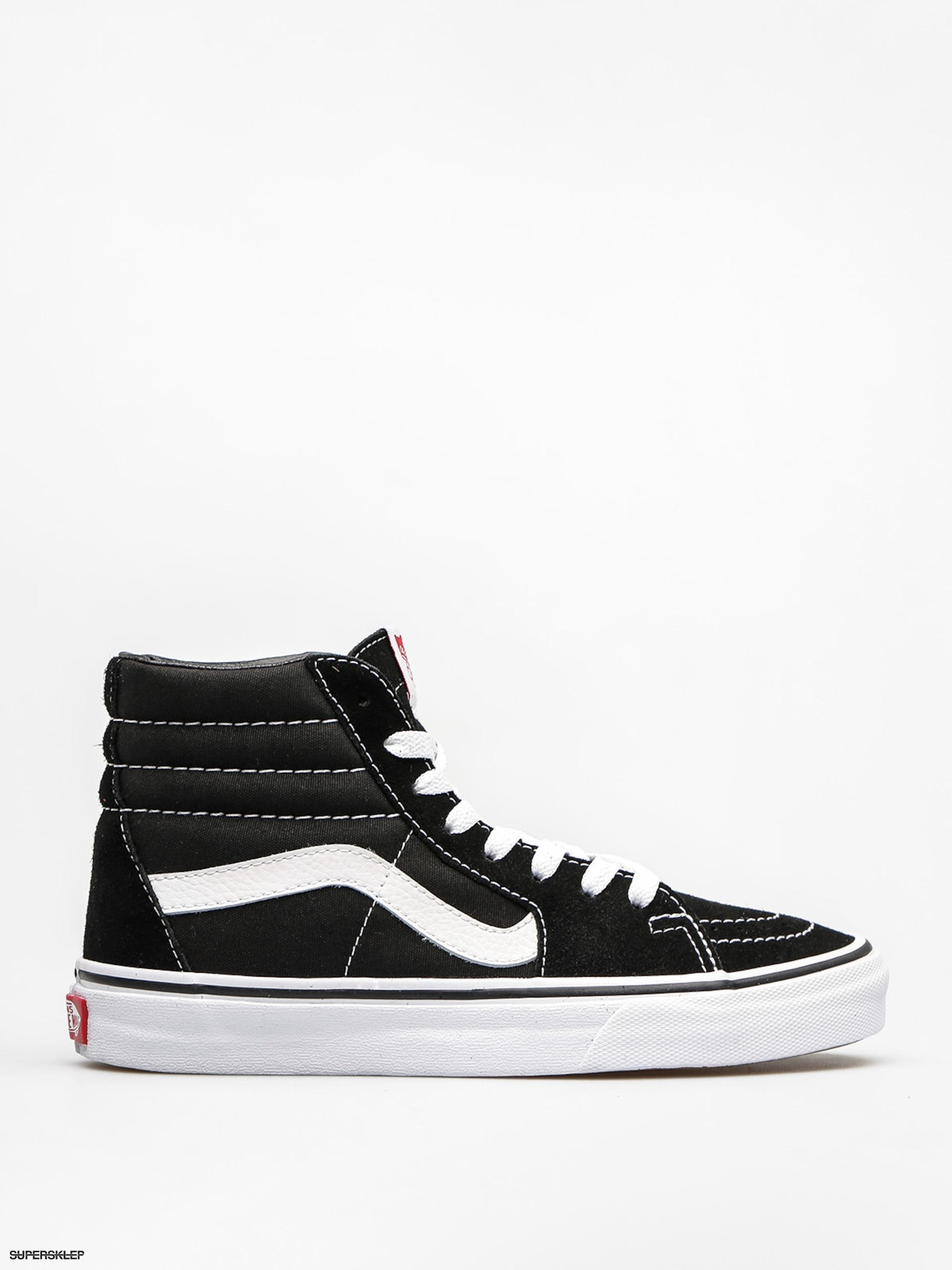 Boty Vans Sk8 Hi (black black white) 81cfa4f41c0