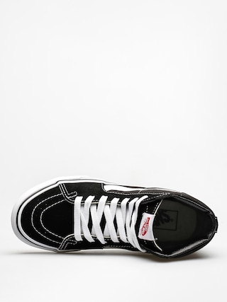 Boty Vans Sk8 Hi (black/black/white)