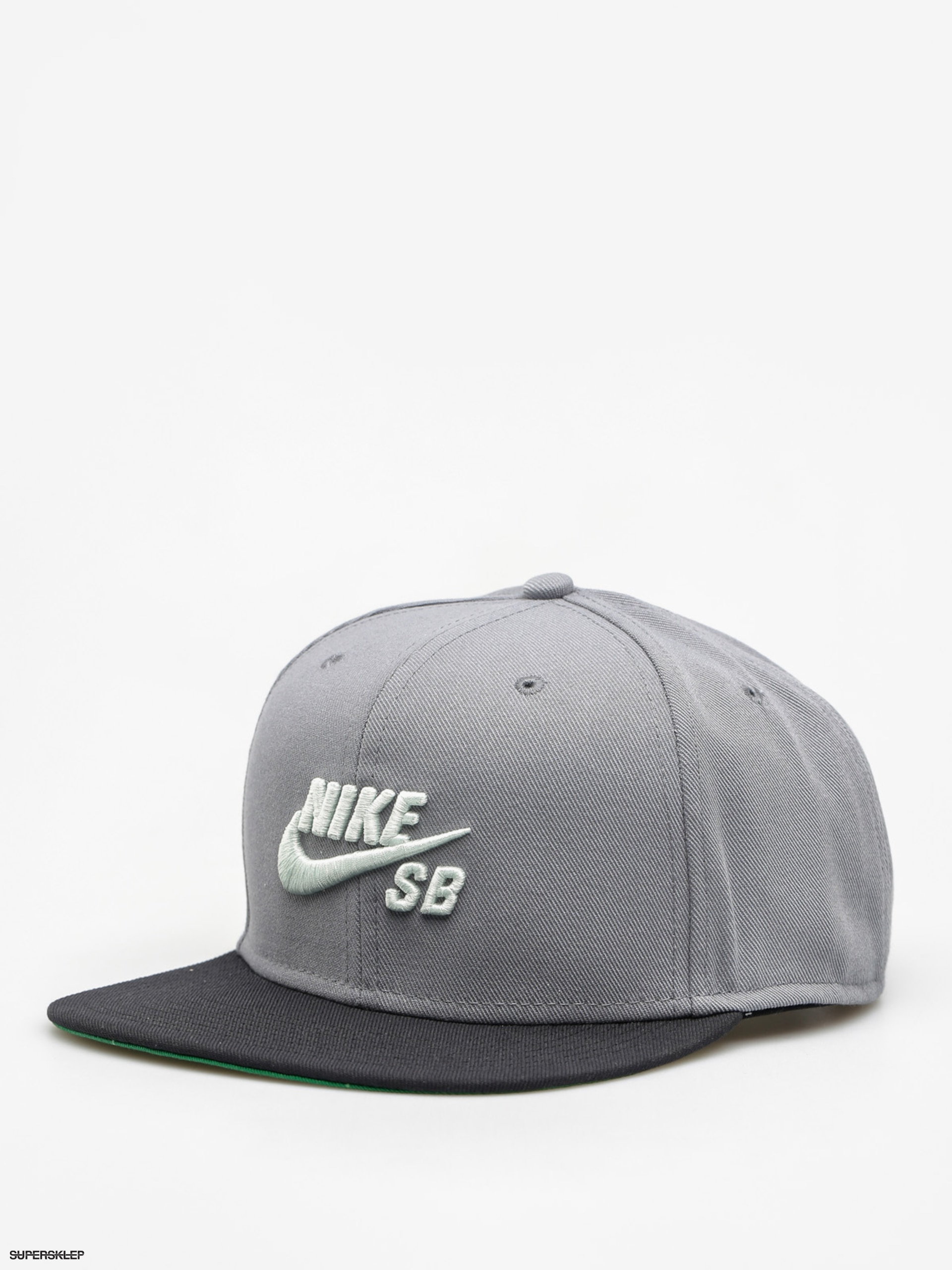 Kšiltovka  Nike SB Sb Icon Snapback ZD (cool grey/black/pine green/barely green)