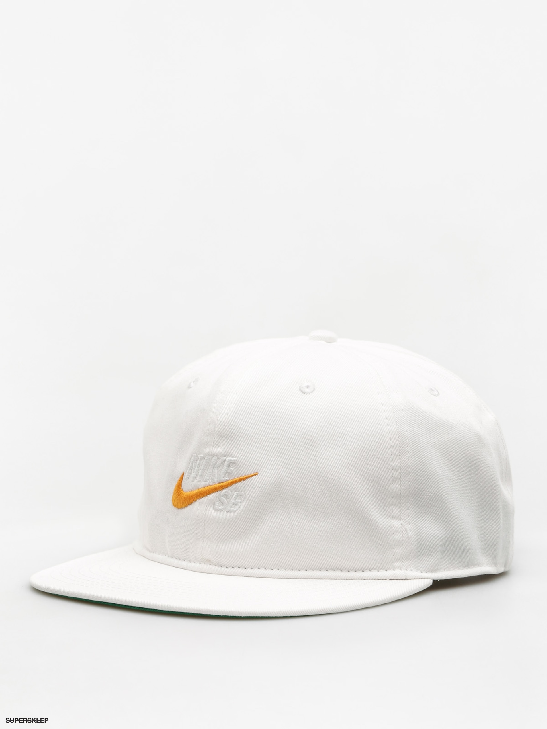 Kšiltovka  Nike SB Nk Cap Sb Vintage ZD (white/pine green/black/circuit orange)