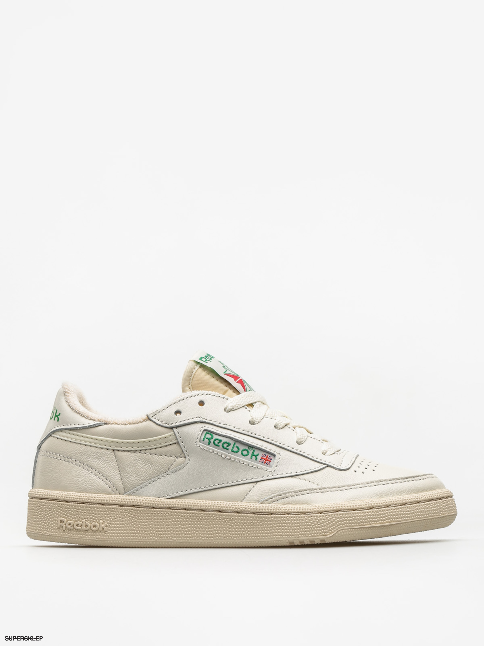 Boty Reebok Club C 85 Vintage Wmn (chalk/green/white/red)