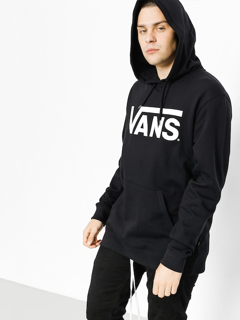 Vans Mikina s kapucí Classic Pullover HD (black/white)