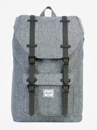 Herschel Supply Co. Batoh Little America (raven crosshatch/black rubber)