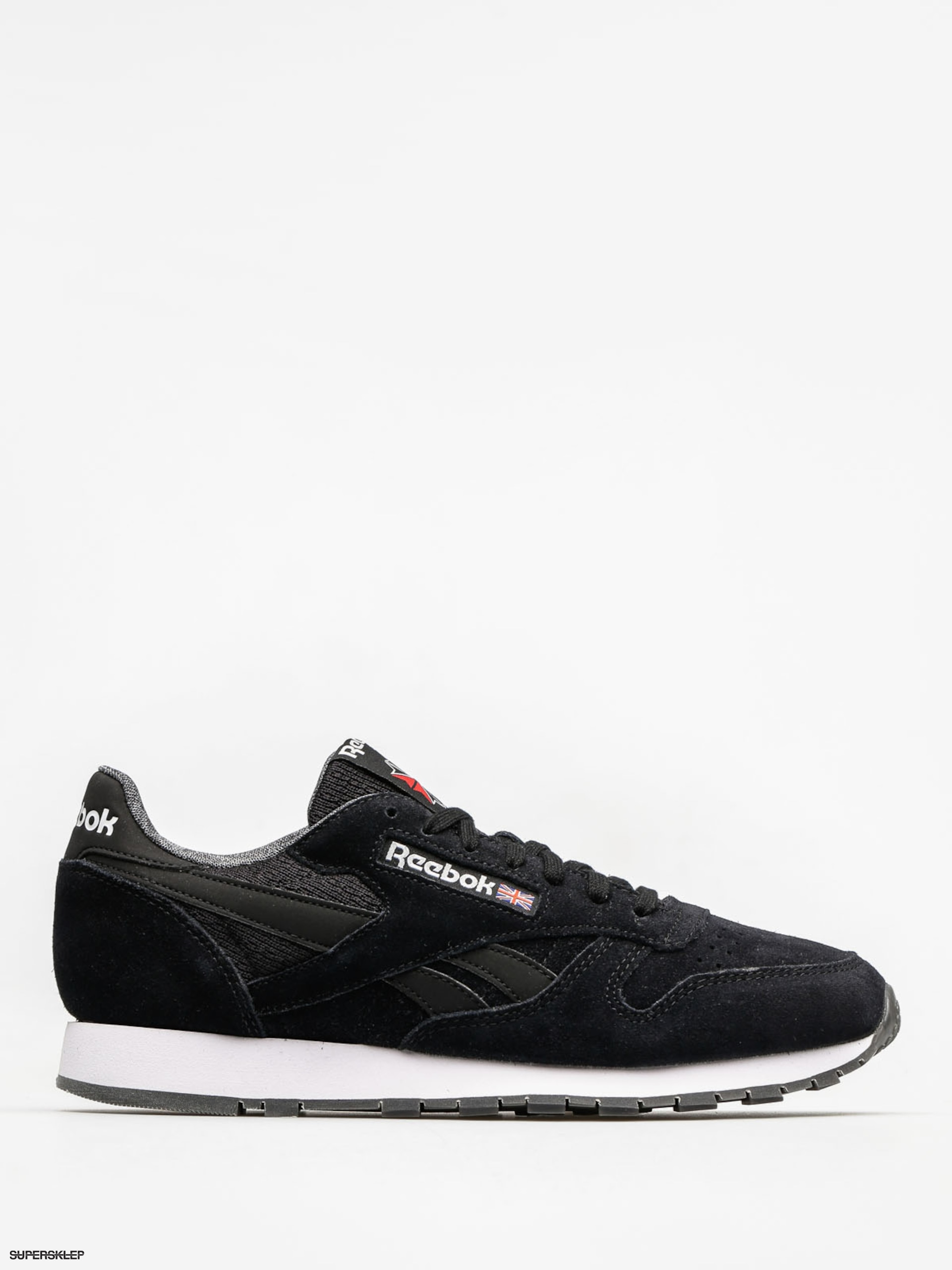 Boty Reebok Cl Leather Nm (black/white)