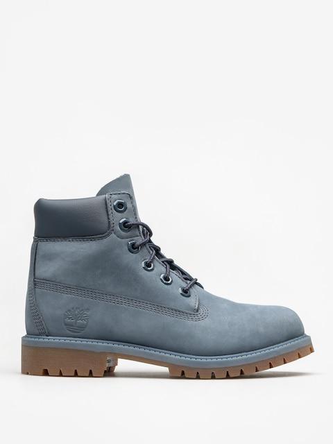 Dětské boty Timberland 6 In Premium Wp (medium blue nubuck)