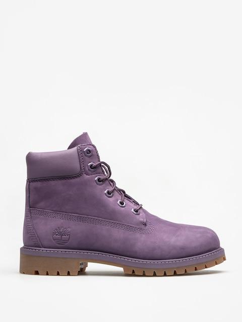 Dětské boty Timberland 6ty 6 In Premium Wp (medium purple nubuck)