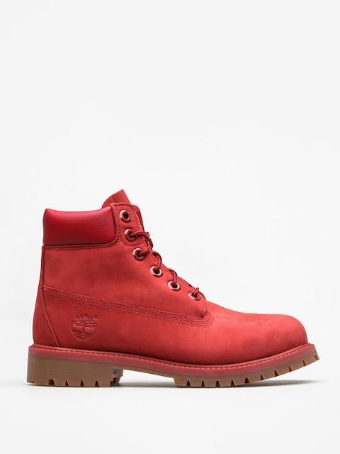 Dětské zimní boty Timberland 6 In Premium WP (red)