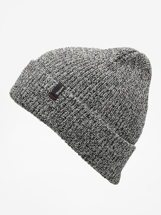 Čepice Brixton Heist Beanie (black/heather grey)