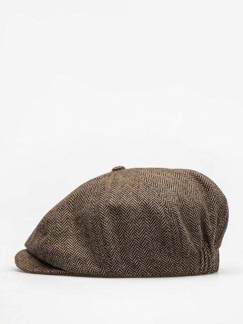 Klobouk s kšiltem Brixton Lil Brood ZD (brown/khaki)