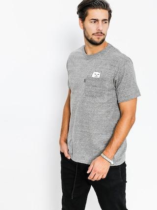 Tričko RipNDip Lord Nermal Pocket (athletic heather grey)