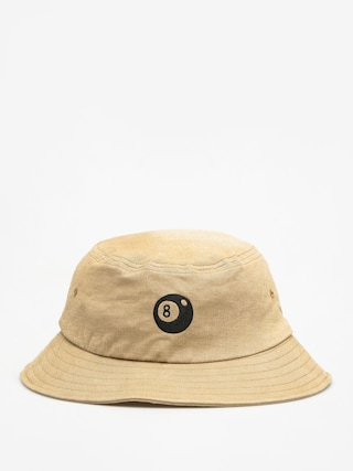 Stussy Klobouk 8 Ball Bucket Hat (tan)