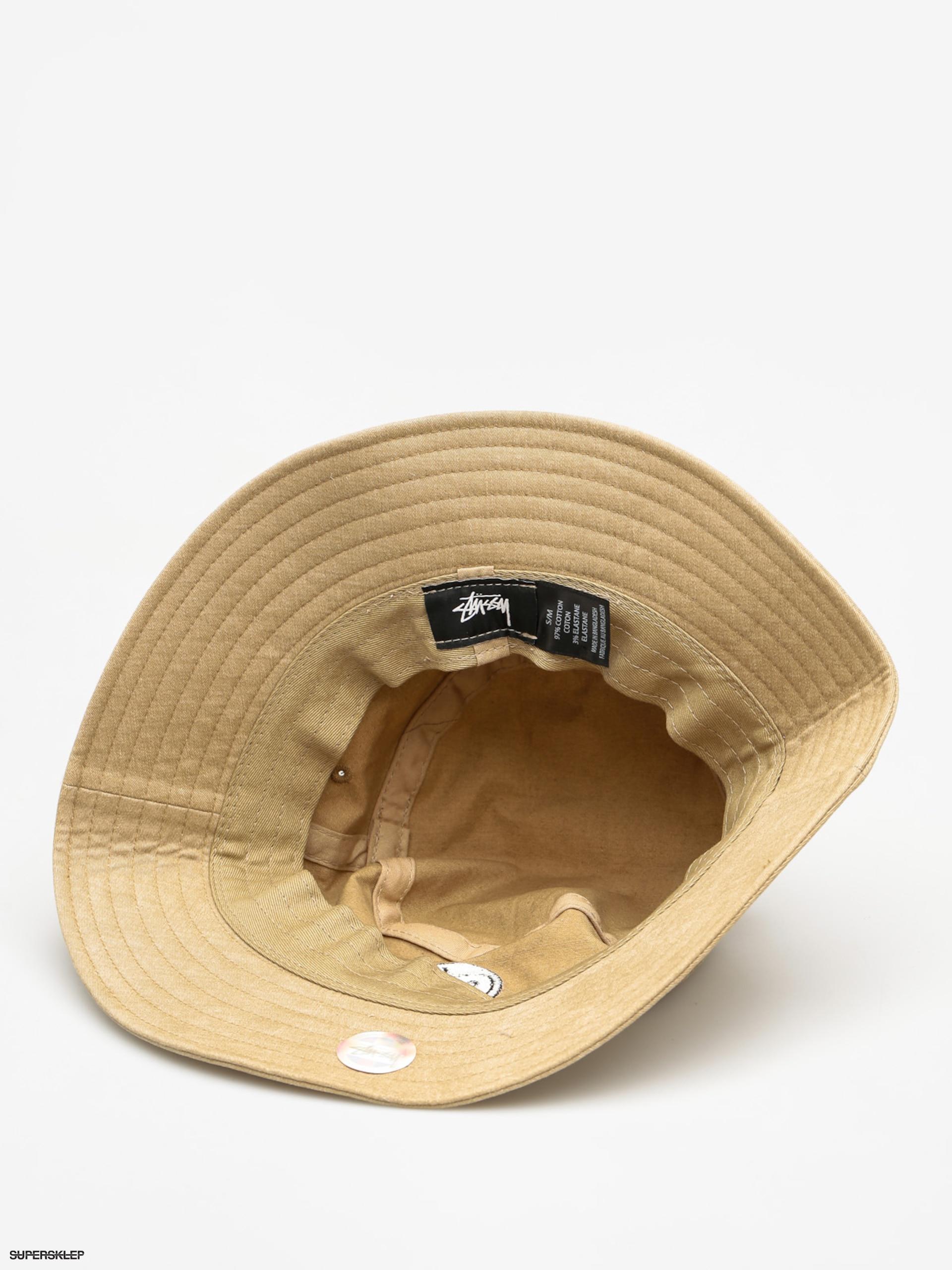 8a942086bfc Stussy Klobouk 8 Ball Bucket Hat (tan)