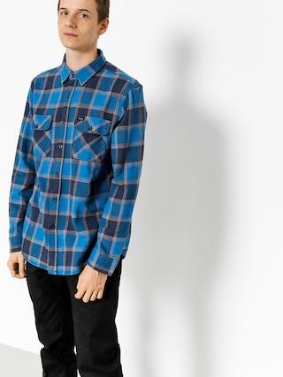 Brixton Košile Bowery Flannel Ls (blue/navy)