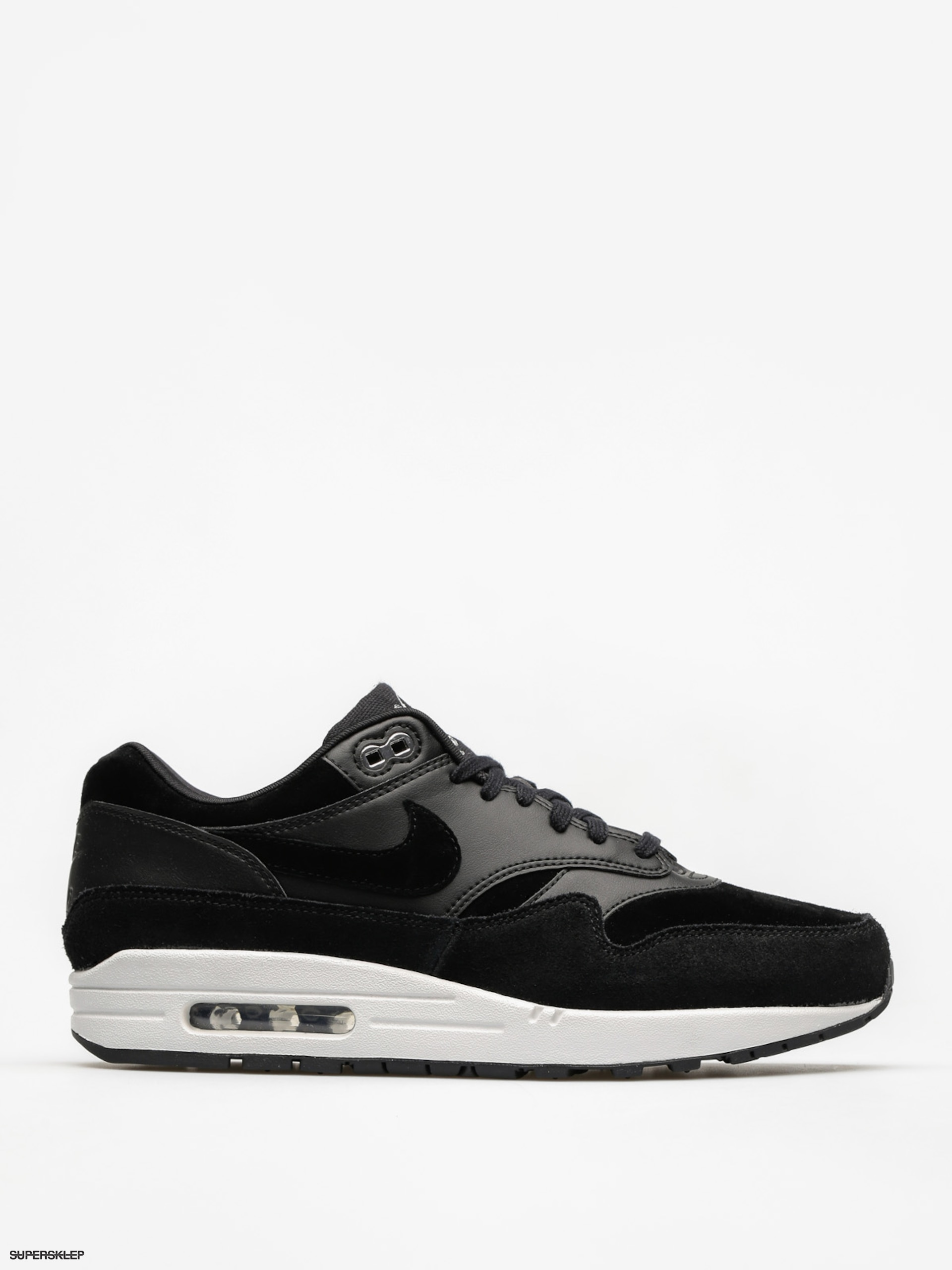 Boty Nike Air Max 1 (Premium black/chrome off white)