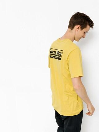 Brixton Tričko Traction (washed yellow)
