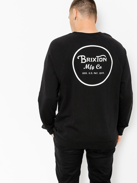 Brixton Mikina Wheeler (black/white)
