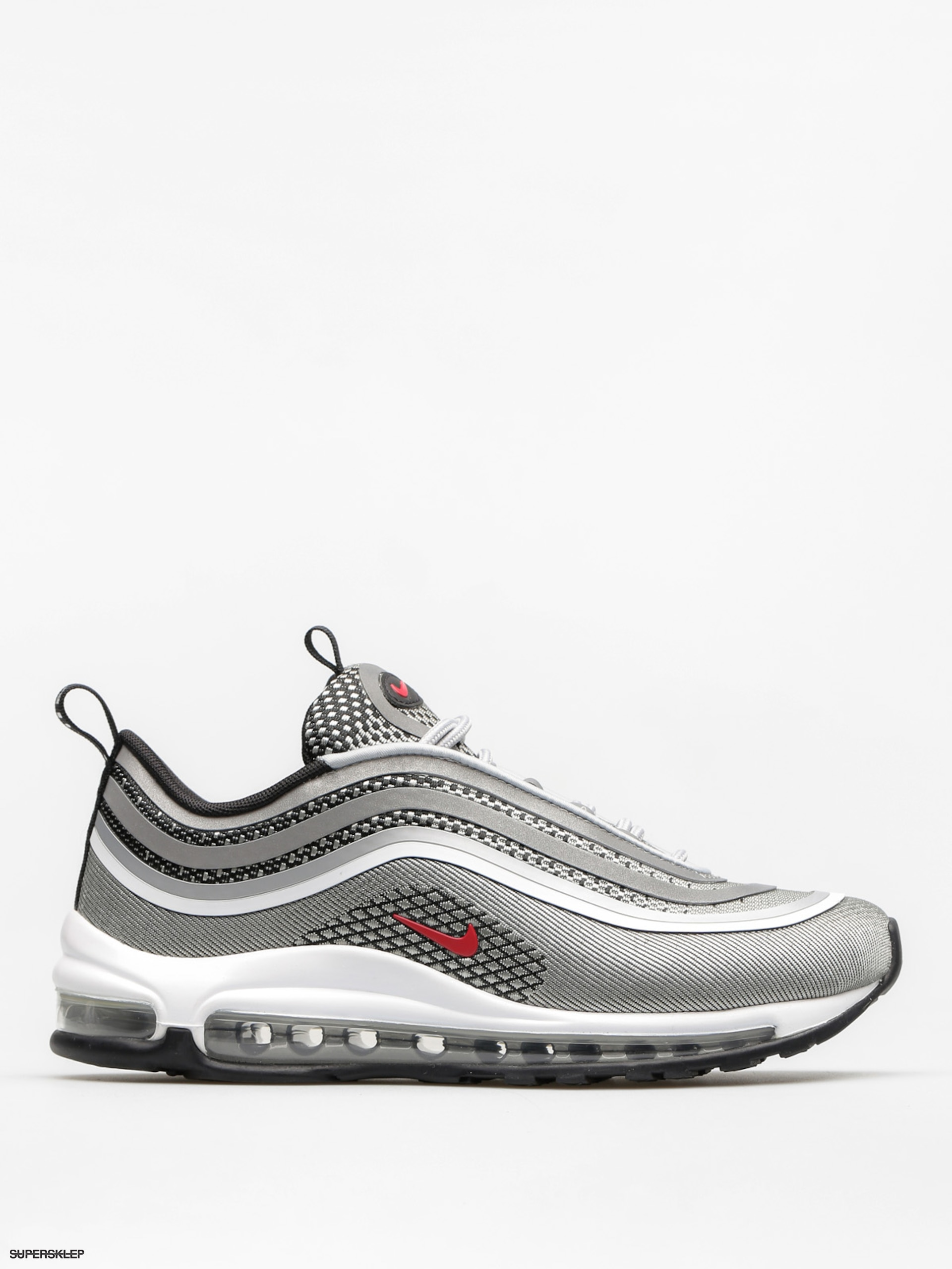 Boty Nike Air Max 97 Ultra 17 Wmn (metallic silver/varsity red black white