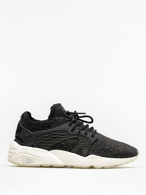 Puma Boty Blaze Cage Evo Knit (puma black/steel gray/whisper white)