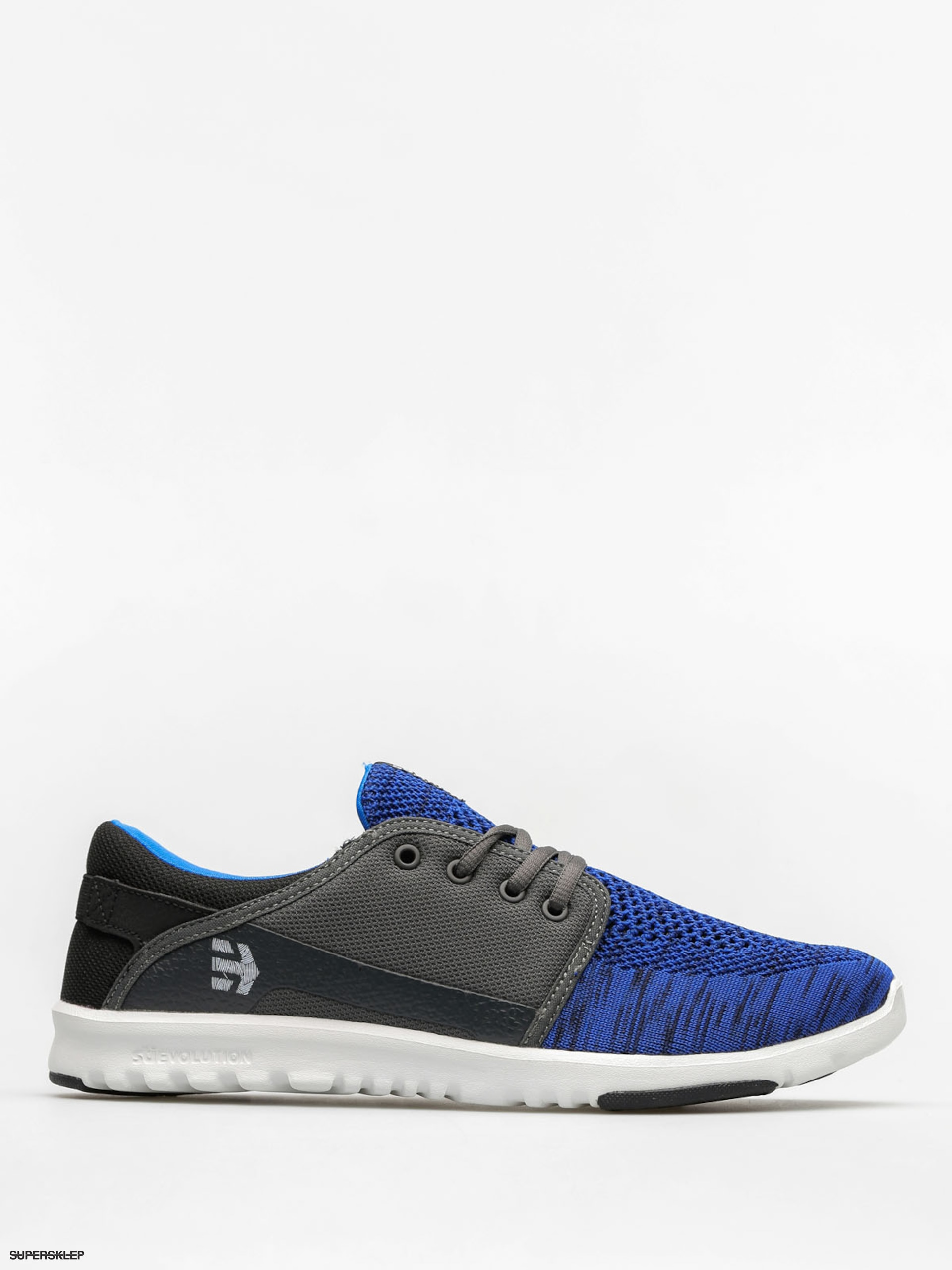 Etnies Boty Scout YB (black/blue/grey)