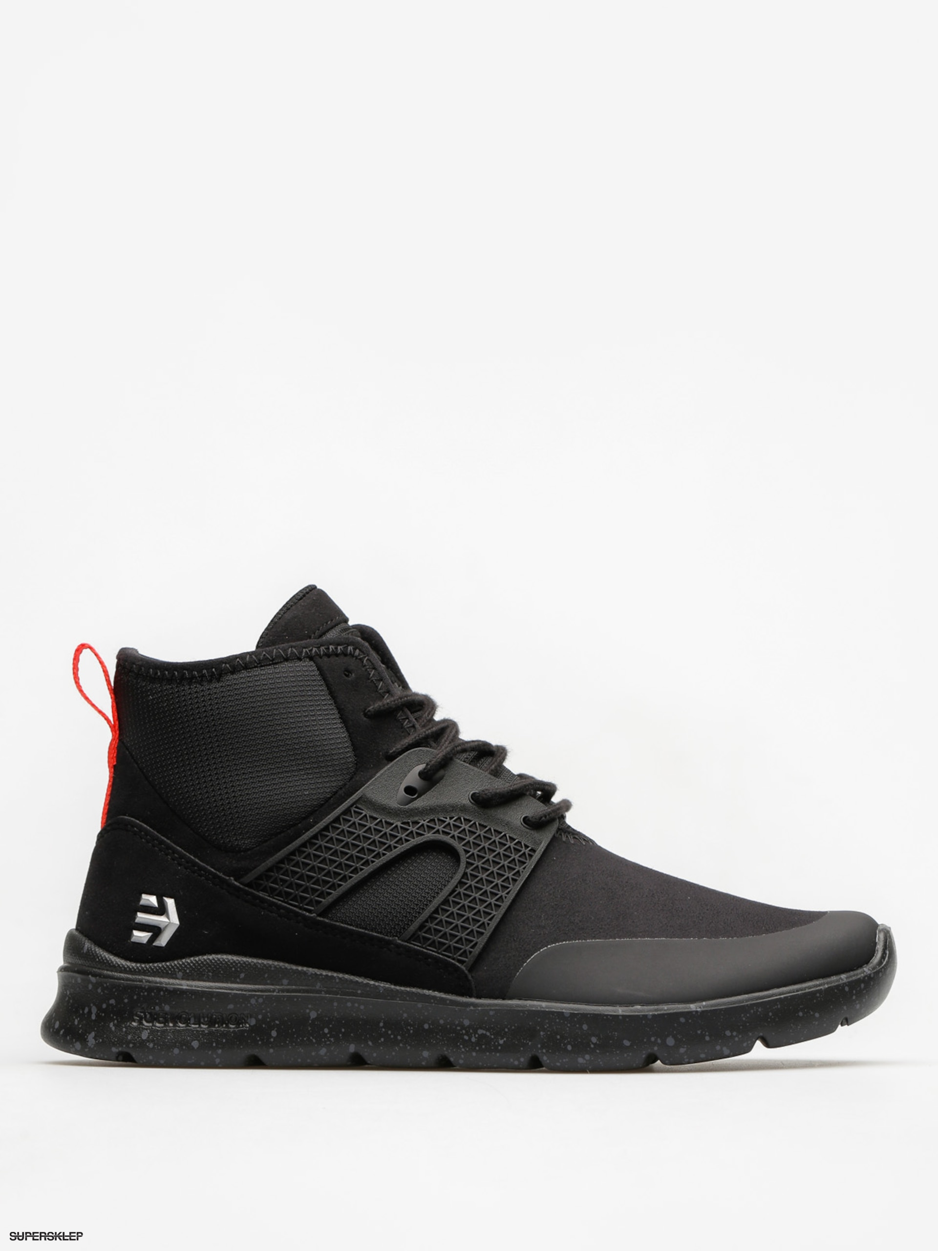 Boty Etnies Beta (black/black/reflective)