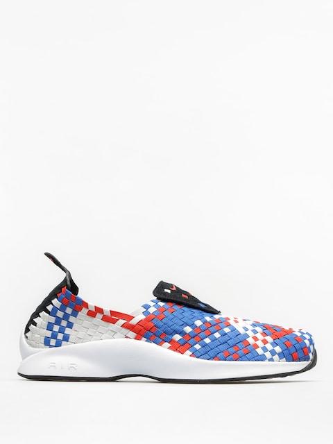 Boty Nike Air Woven (black/rush red blue jay sail)