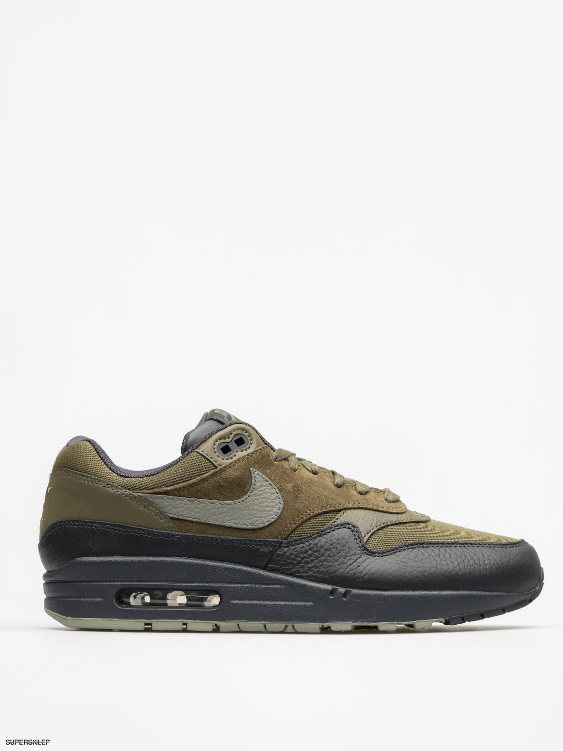 Boty Nike Air Max 1 (Premium medium olive/dark stucco anthracite)