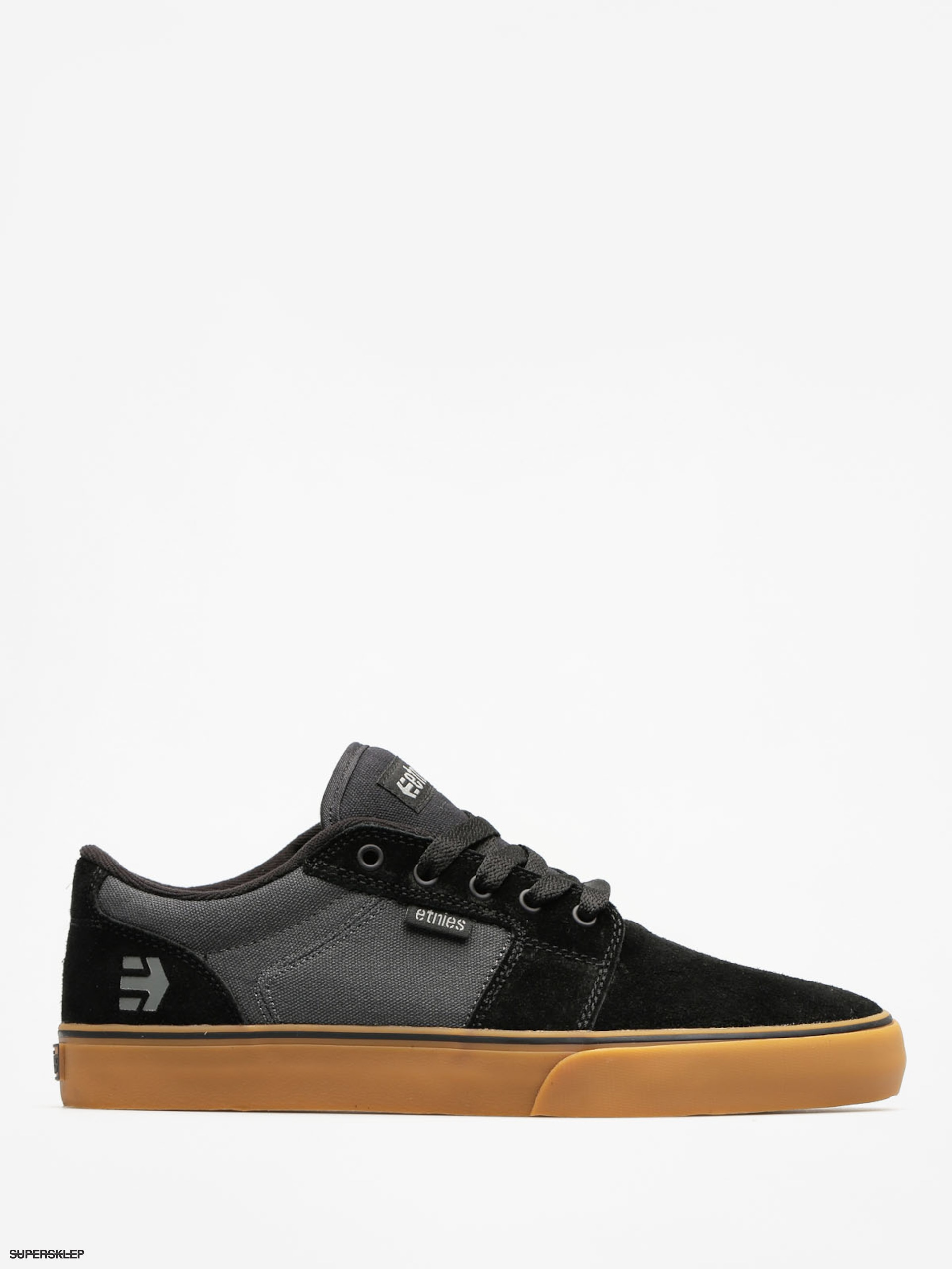 Etnies Boty Barge LS (black/dark grey/gum)