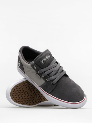 Boty Etnies Barge LS (dark grey/grey/red)