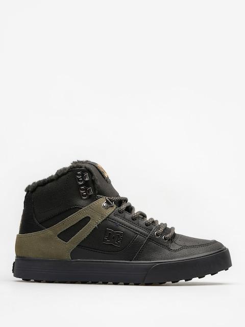 DC Zimní boty Spartan High Wc Wnt (black/olive)