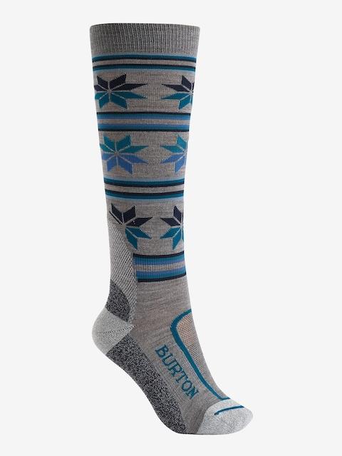 Ponožky Burton Ultralight Wool Wmn (monument heather)
