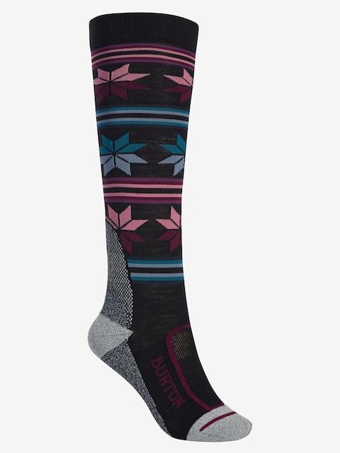 Ponožky Burton Ultralight Wool Wmn (true black)