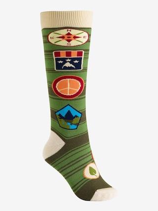 Ponožky Burton Party Wmn (patches)