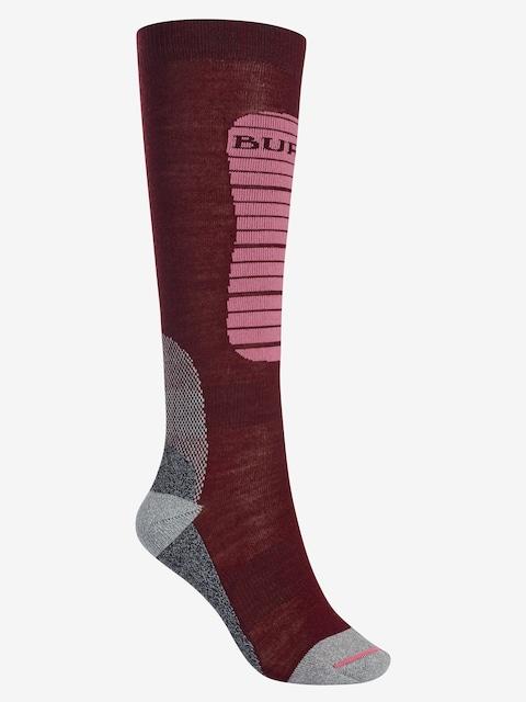 Ponožky Burton Merino Phase Wmn (sangria)