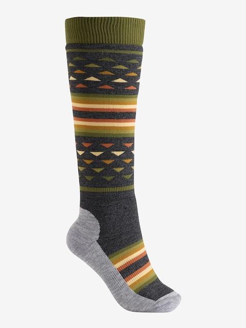 Ponožky Burton Shadow Wmn (rifle green)