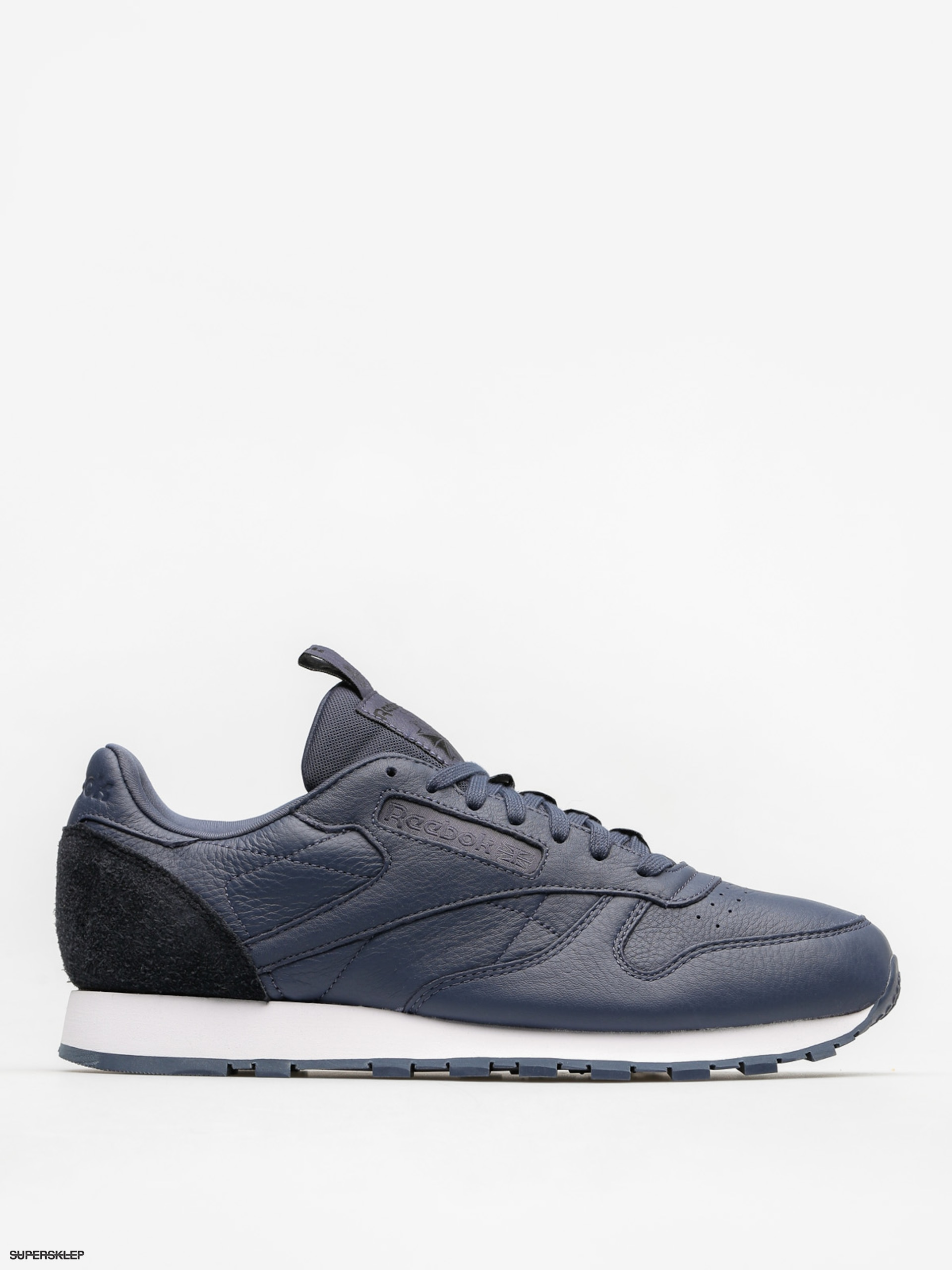 Boty Reebok Cl Leather It (smoky indigo/black/wh)