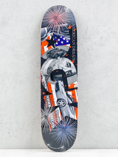 DGK Deska American Dream (black/multicolor)