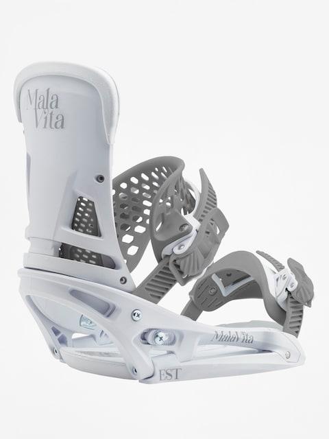 Snowboardové vázání Burton Malavita Est (white rabbit)