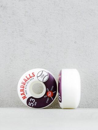 Koleu010dka Mob Skateboards Hardballs (white/maroon)