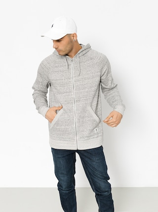 Mikina s kapucí Element Meridian ZHD (grey heather)