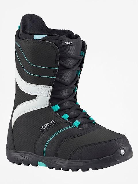 Boty na snowboard Burton Coco Wmn (black/teal)