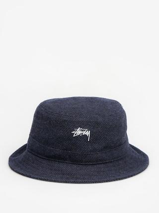 Klobouk Stussy Textured Wool Bucket Hat (blue)
