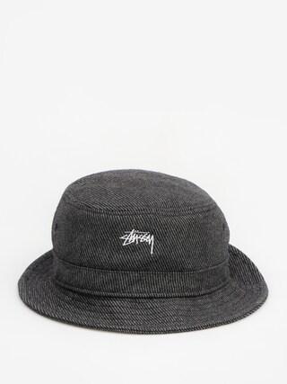 Klobouk Stussy Textured Wool Bucket Hat (black)