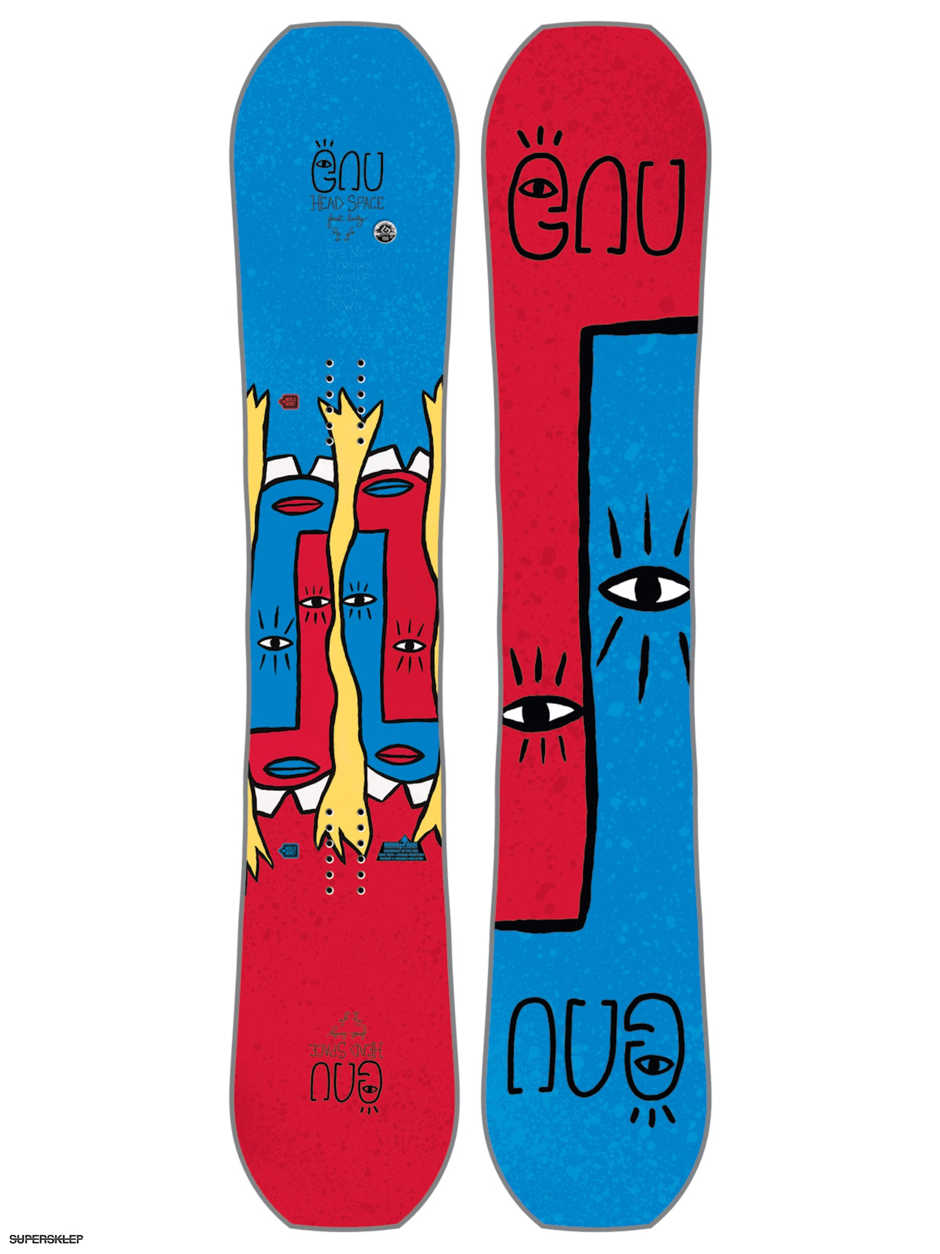 Snowboard Gnu Fb Head Space C3 Asym