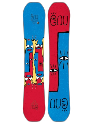 Snowboard Gnu Fb Head Space C3 Asym (multi)