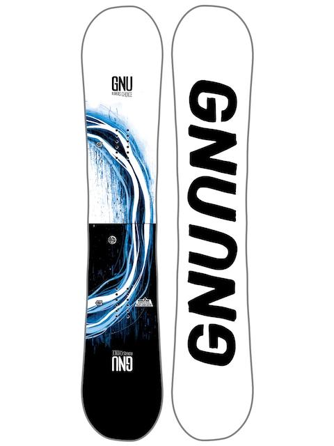 Snowboard Gnu Rider'S Choice C2X Asym (white)