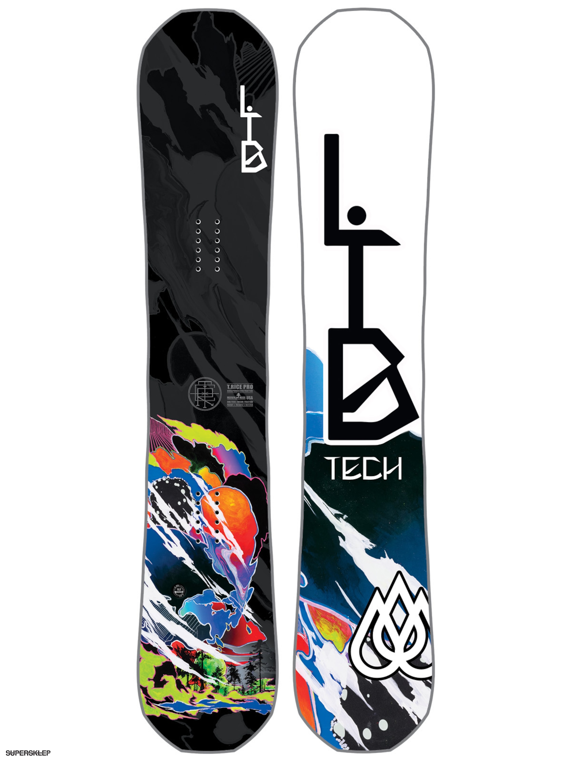 Snowboard Lib Tech T Rice Hp C2 Blunt