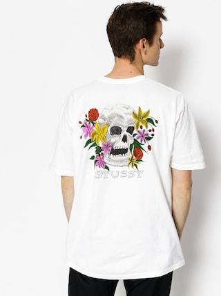 Triu010dko Stussy Hippie Skull (white)
